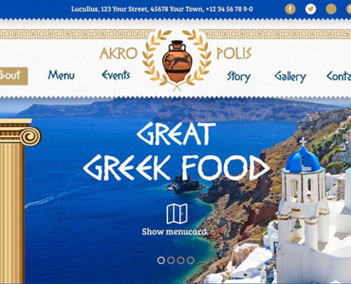 Akropolis WordPress Theme