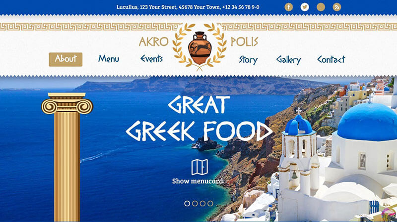 Akropolis WordPress Theme