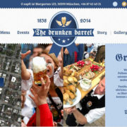 Bavaria Blue Food Truck WordPress Theme