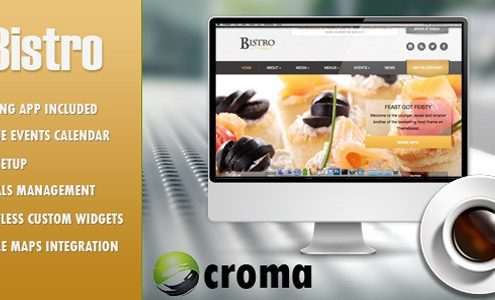 Bistro Restuarant WordPress Theme