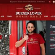 Burger Lover Food Truck WordPress Theme