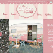 Cupcake Wagon - Food Truck WordPress Theme