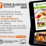 Dine & Drink WordPress Restaurant Theme