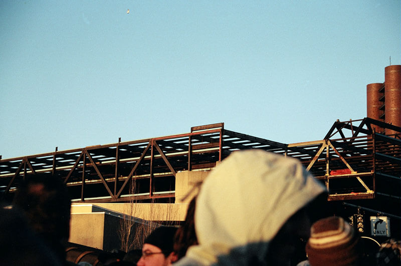 Before Implosion of New Haven Coliseum in CT, 2007
