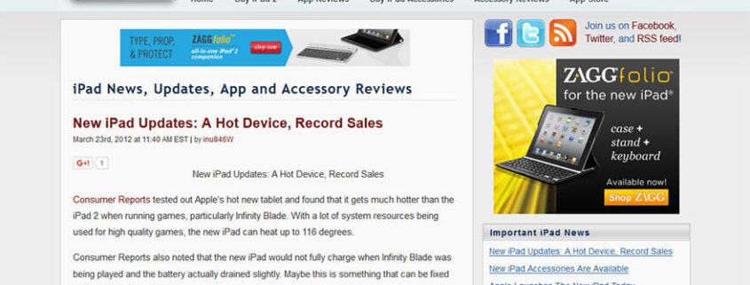 Ipad News Updates