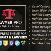 Lawyer Pro WordPress Theme