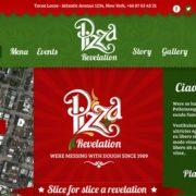 Pizza Food Truck Wordpress Theme