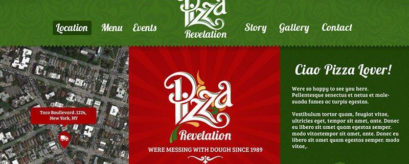 Pizza Food Truck Wordpress Theme