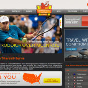 PowerShares Series Tennis Website by Elm City Web