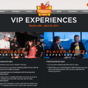 PowerShares Series VIP Ticket Sales by Elm City Web
