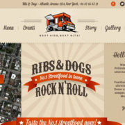 Ribs and Hotdogs Food Truck