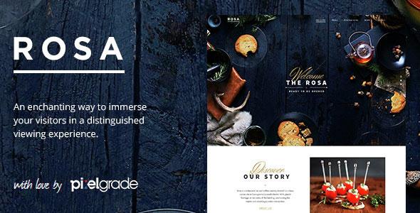 ROSA Restaurant WordPress Theme