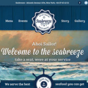 Seabreeze Food Truck WordPress Theme
