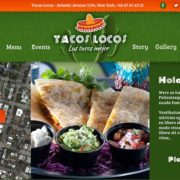Tacos Locos Food Truck WordPress Theme