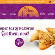 The Indian Restaurant WordPress Theme