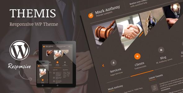Themis - Lawyer WordPress Theme